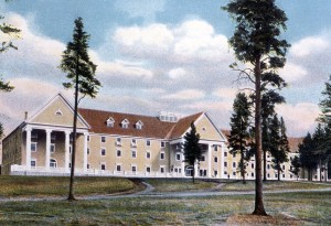 Postcard of the Lake Hotel;Frank J Haynes;No date