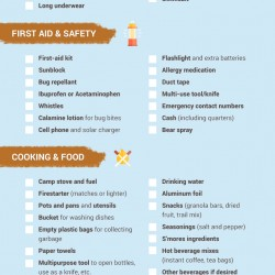 Infographic: Car Camping Checklist