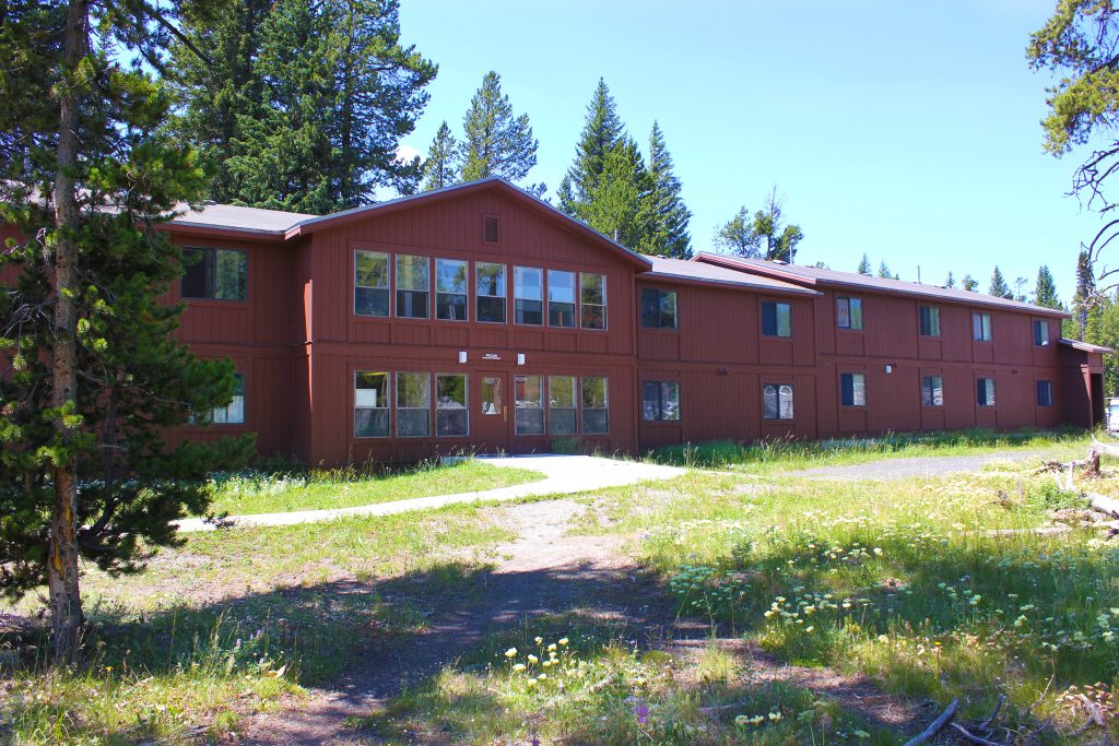 View of outside of dormitories