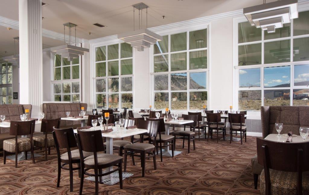 Mammoth First FourStar Green Restaurant in National Park System