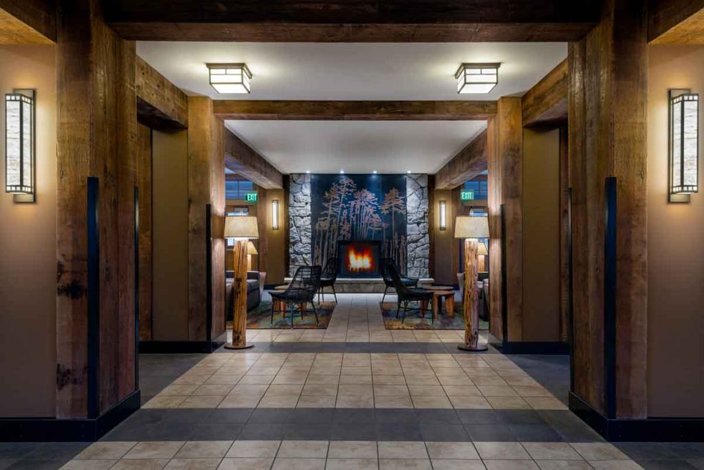 Canyon Lobby Fireplace