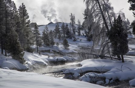 Firehole Winter