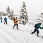 Cross-country skiing Canyon Rim Trail (2)
