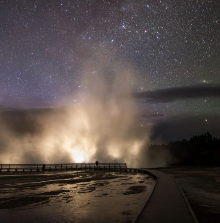 Yellowstone After Dark: Good Times, Dark Skies