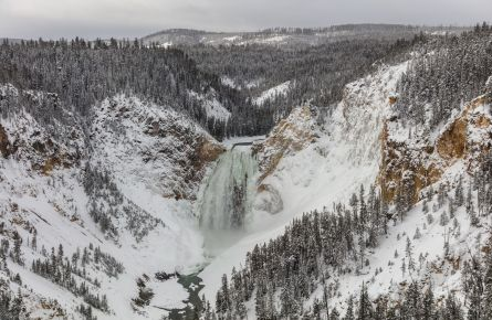 Lower Falls from Lookout Point 12.27.17