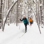 Cross-country skiing the Roller Coaster Trail (15)