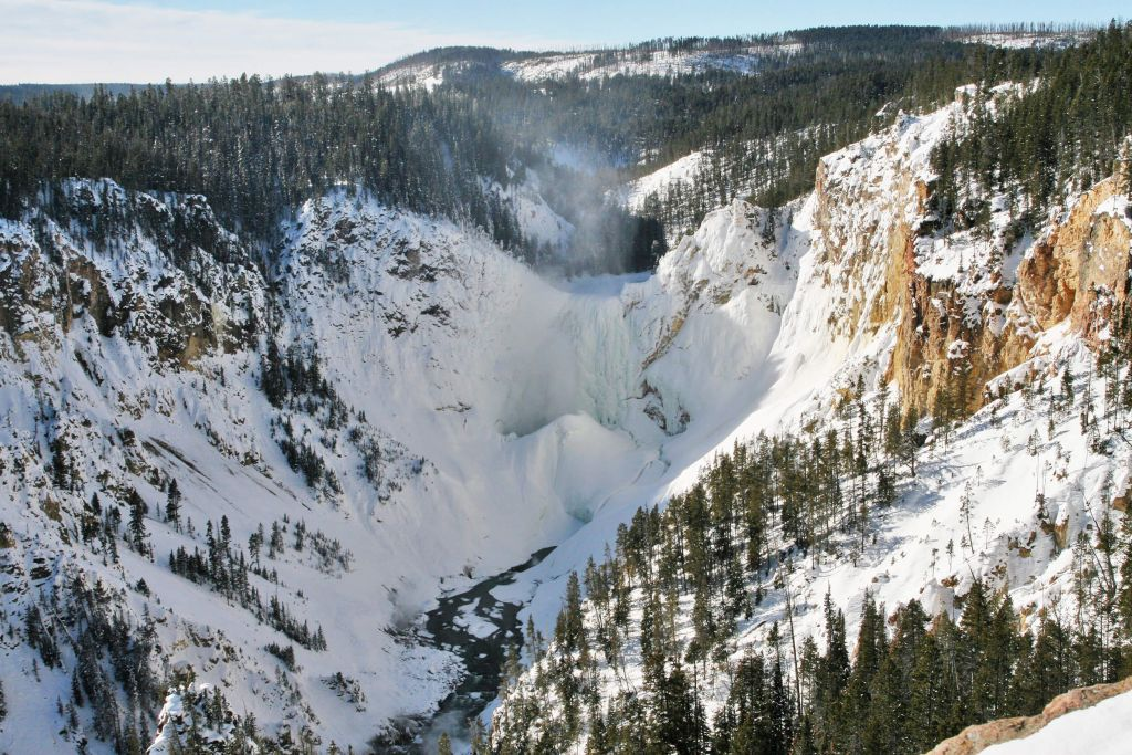 Winter In Wonderland Yellowstone National Park Lodges