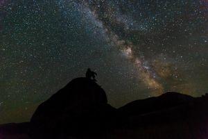 Stargazing at Yellowstone