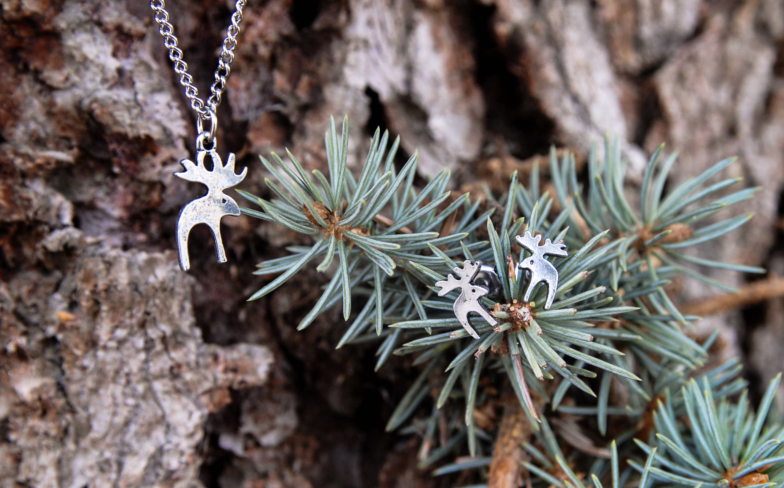 Moose Jewelry Set