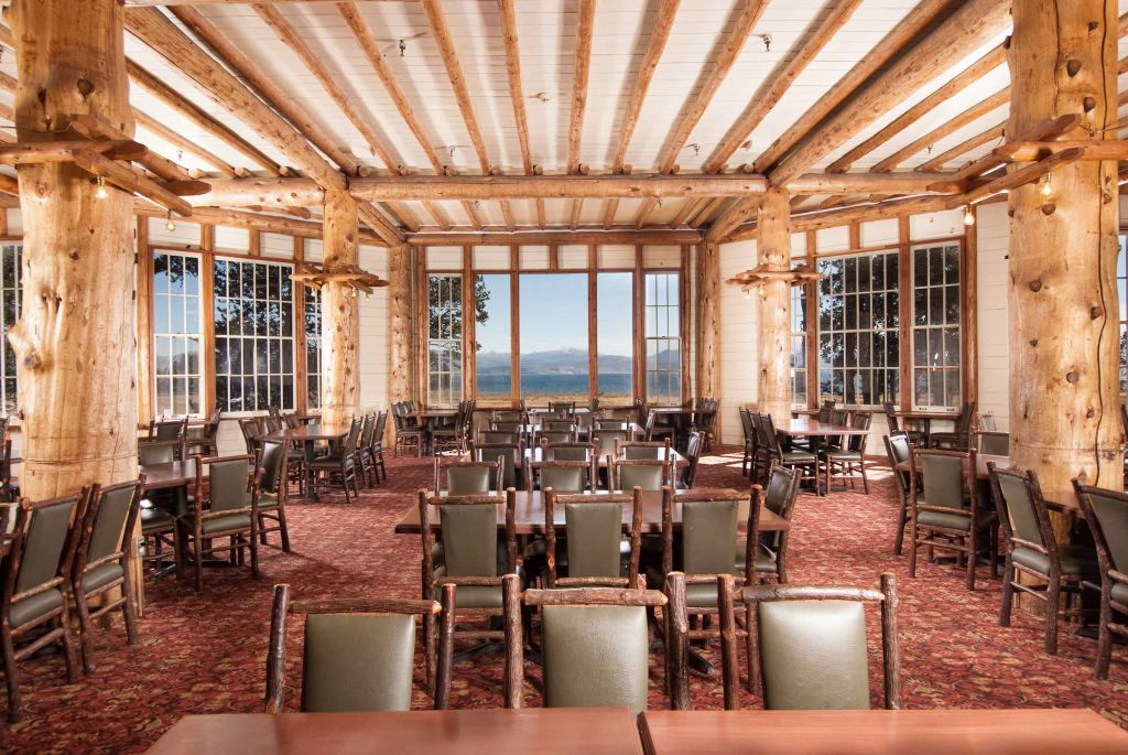 lake lodge cafeteria | dining options at yellowstone lake