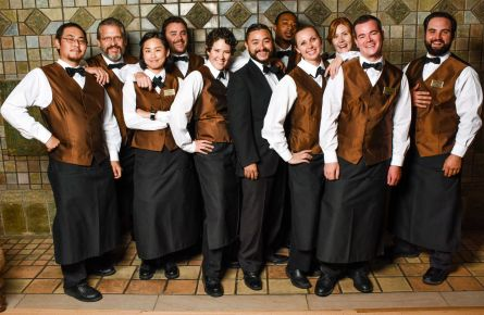 Lake Hotel staff photo