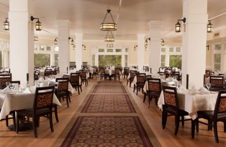 Dining Room at Lake Yellowstone Hotel