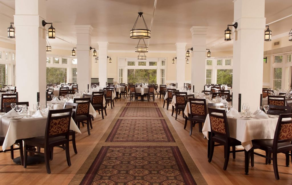 lake hotel dining room | dining options at yellowstone lake