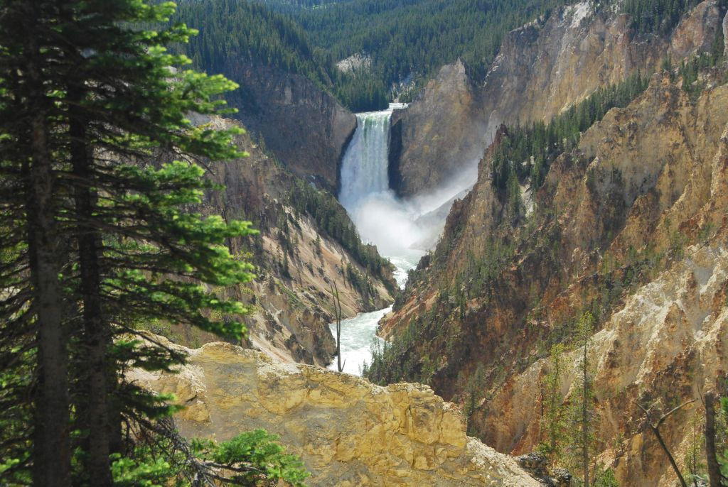 Lower Falls of the Grand Canyon of the Yellowstone