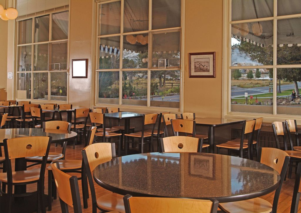 Mammoth Terrace Grill Dining Options At Hot Springs