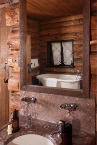 Old Faithful Inn- Old House (one type of bath)