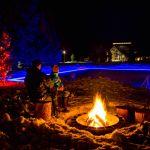 Old Faithful Snow Lodge - Ice Rink WinterOld Faithful Snow Lodge - Ice Rink Winter