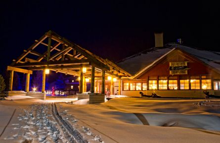 Experience Yellowstone's Snow Lodge