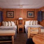 Old Faithful Snow Lodge - Frontier Cabin - Two Beds