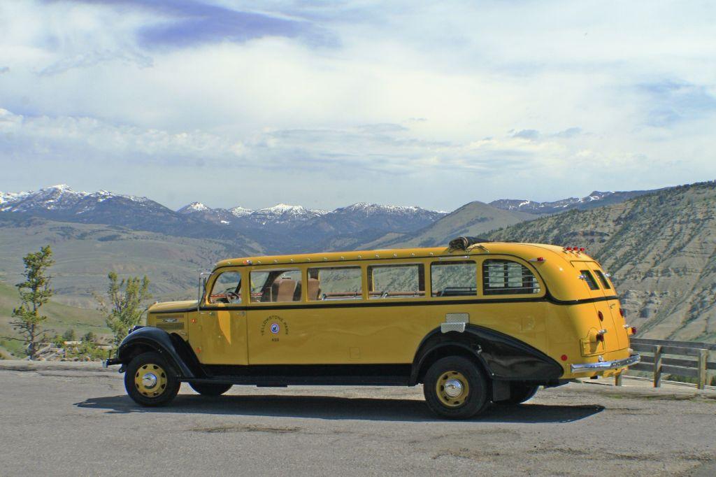 Yellowstone Tour Bus.