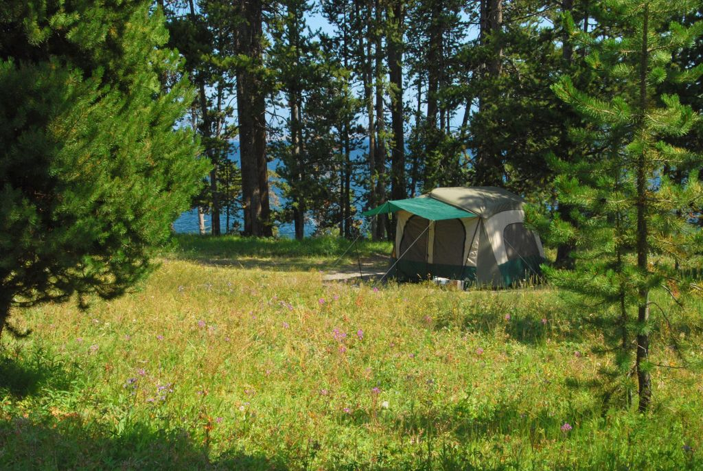Camping Yellowstone National Park Lodges