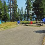 Campsite at Bridge Bay Campground