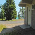 Washrooms at Bridge Bay Campground