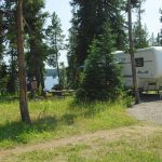 RV at Bridge Bay Campground
