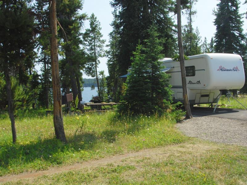 Yellowstone National Park Rv Parks >> Bridge Bay Campground 8