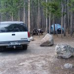 Campsite at Canyon Campground