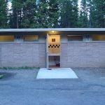 Washrooms at Canyon Campground