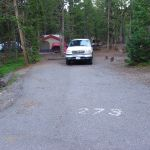 Lot at Canyon Campground