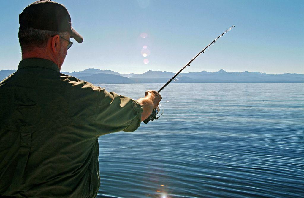 Fishing On Lake Yellowstone