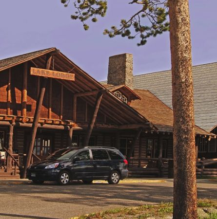 Lake Lodge exterior