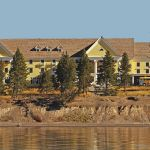 Exterior from Lake Yellowstone