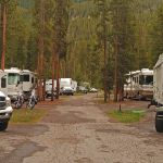 RVs at Madison Campground