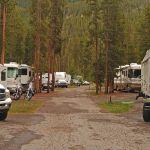 RVs at Madison Campground