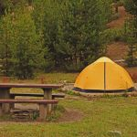 Tent at Madison Campground