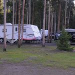 Trailers at Madison Campground