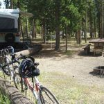Picnic area at Madison Campground