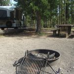 Firepit at Madison Campground