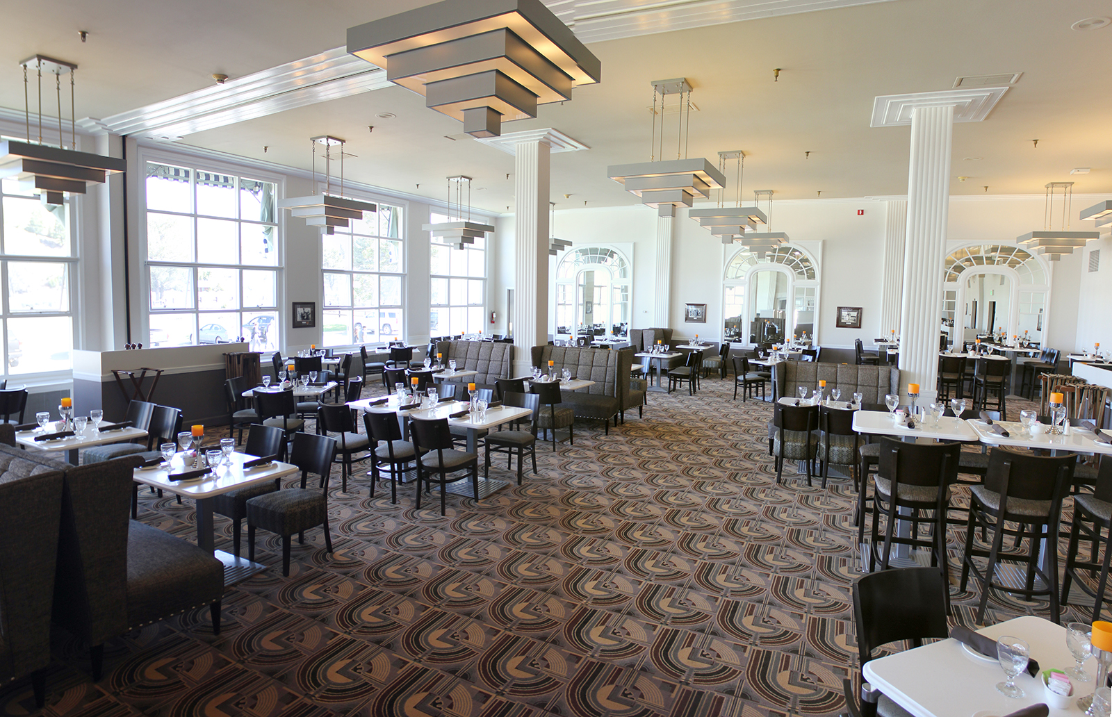 lake yellowstone hotel dining room. mammoth hot springs dining room 5