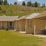 Mammoth Hot Springs Hotel Cabins Yellowstone National Park Lodges