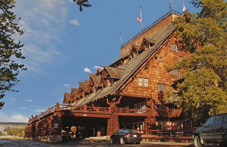 Old Faithful Inn Exterior