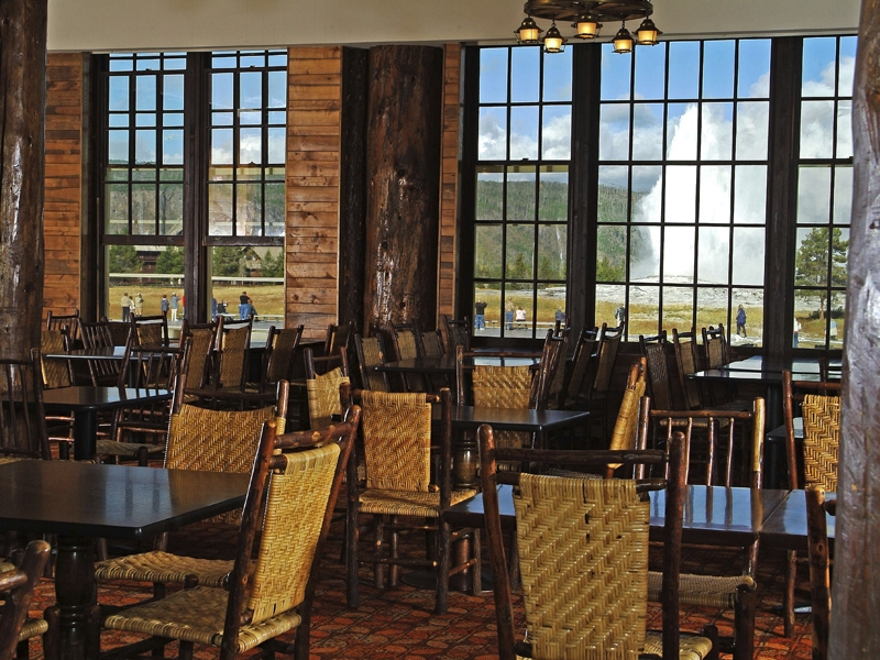 Beau Old Faithful Lodge Dining Room. «