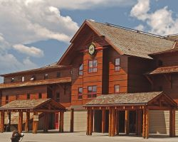 Old Faithful Snow Lodge Exterior