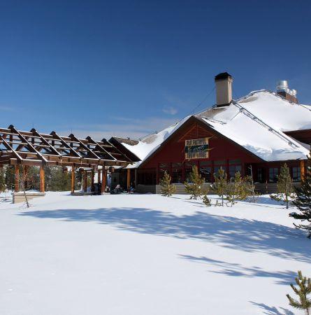Experience Yellowstone's Snow Lodge