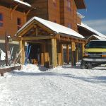Old Faithful Snow Lodge Winter