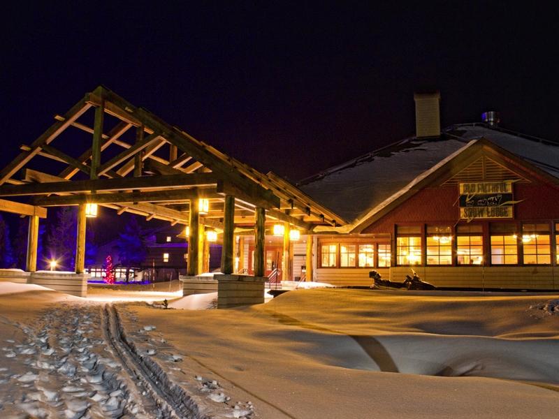 Old Faithful Snow Lodge Winter