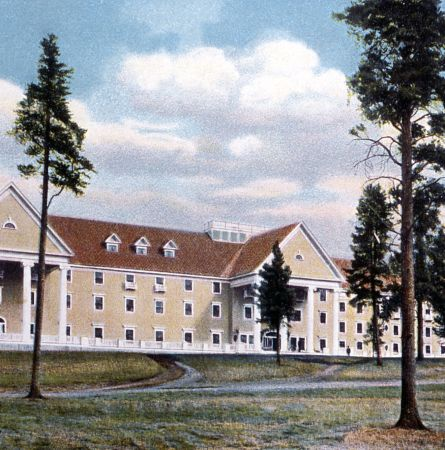 Postcard of the Lake Hotel; Frank J Haynes; No date